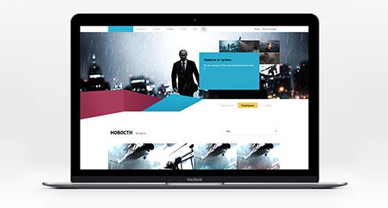 Дизайн сайта N-Play